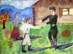 «Встреча» Козлова Анастасия, 12 лет (2 тур, №155)