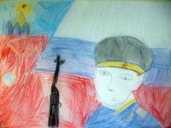 «На защиту Родины» Потехин Никита 6 лет (2 тур, №412)