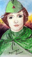 «Медсестра Катюша» Кононова Ольга, 15 лет (2 тур, №178)