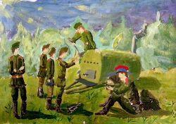 «Обед» Гаврюк  Юлия, 13 лет (2 тур, №165)