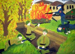 «В разгаре боя» Страшкина Ксения, 11 лет (2 тур, №319)