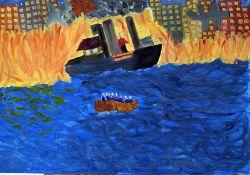 «В огне» Коршин Зоя, 13 лет (2 тур, №174)
