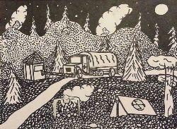 «В ночи» Мусина Дарья, 9 лет (2 тур, №156)