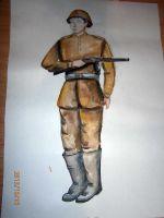 «Мой прадед – русский солдат!» Зыкин Вадим, 5 лет (2 тур, №254)