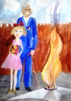 «Вечная память» Кононова Ольга 7 лет (2 тур, №117)