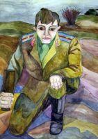 «Последний бой» Шабленко Алексей, 14 лет