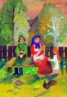 «Письмо с фронта» Стародуб Анастасия, 15 лет, (2 тур, №50)