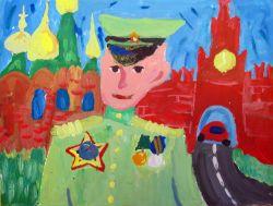 «После войны» Урмавшина Вика, 10 лет (2 тур, №91)