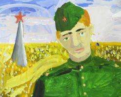 «Портрет неизвестного бойца Советской Армии»