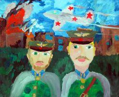 «Лётчики великой войны» Бореева Юля, 11 лет (2 тур, №99)